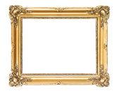 Wooden gold frame