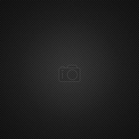 Photo pour Illustration de fond en fibre de carbone - image libre de droit