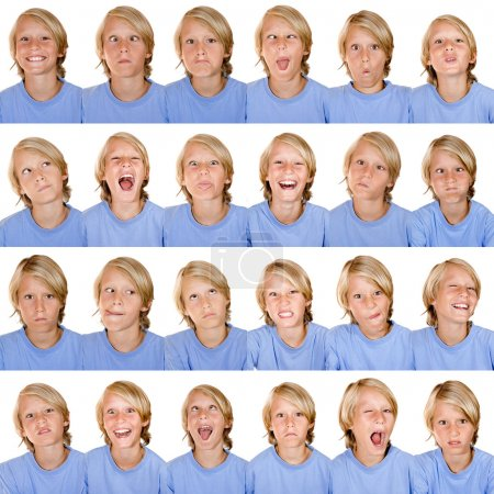 Photo for Facial expressions - Royalty Free Image