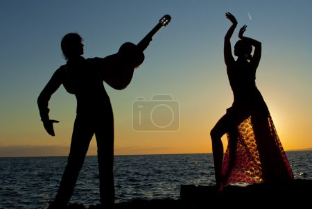 Photo for Spanish dancers in spain - Royalty Free Image