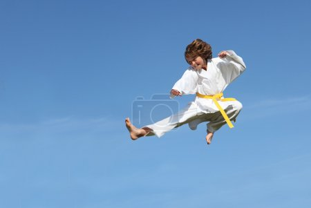 Photo for Karate kid - Royalty Free Image