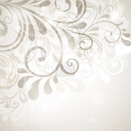 Illustration pour Fond floral abstrait. illustration vectorielle - image libre de droit