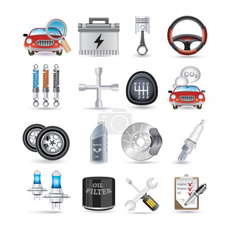 Photo for Car service and parts - Royalty Free Image