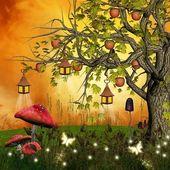 Enchanted nature series - enchanted autumn