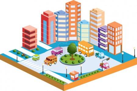 3D city3