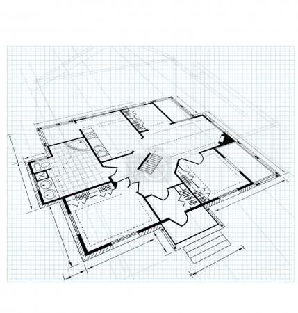 Plan a country house