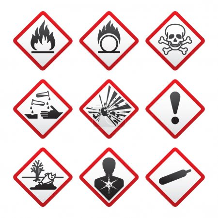 New safety symbols