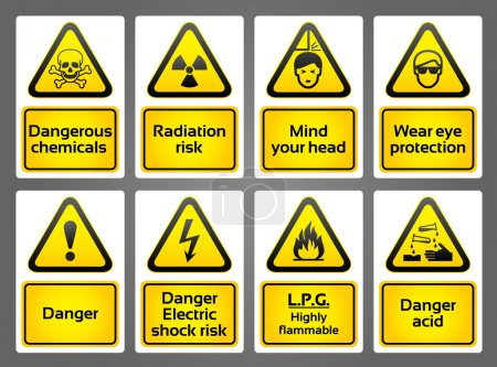 Warning Signs labes