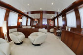 Italy, Tuscany, Viareggio, Tecnomar Nadara 26 luxury yacht