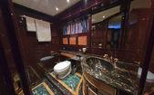 Italy, Tuscany, Viareggio, Tecnomar Velvet 26 luxury yacht