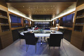Italy, Tuscany, Viareggio, Tecnomar Velvet 100 luxury yacht