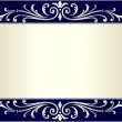 Elegant and stylish vintage background with scroll...