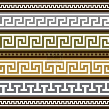 Conjunto de vectores fronteras griegas