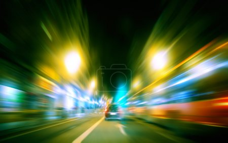 Speed city traffic