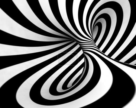 Photo pour Abstrait en noir et blanc - image libre de droit
