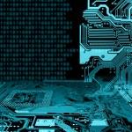 Abstract modern IT technology consept...