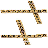 Business Promotion Marketing Strategy Crossword Puzzle