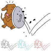 Dog Shielding From Fleas