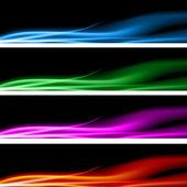 Plasma Energy Banner Set