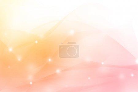 Photo pour Fond rose et orange doux. Espace de copie - image libre de droit