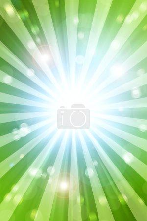 Photo pour Fond flou vert et bleu - image libre de droit