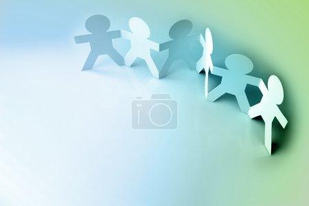 Photo pour Travail d'équipe - image libre de droit