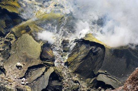 Volcano Kerinci. Kerinci Seblat National Park, Sum...