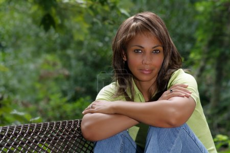 Beautiful Black Woman Outdoors (2)