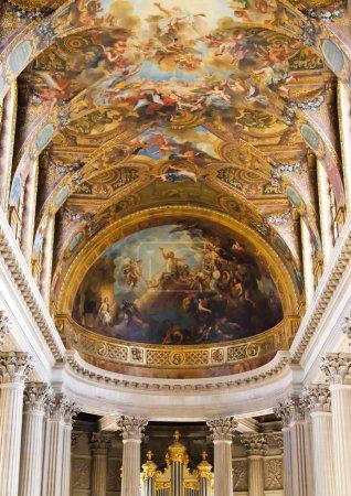 Indoor of Versailles Church at Versailles in France