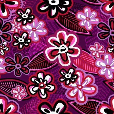 Hand drawn violet background