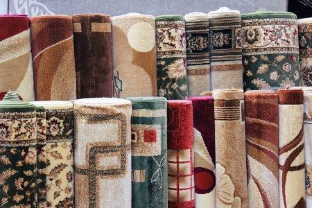 Photo pour Échantillons de tapis de collection, pour les fonds d'écran ou les textures - image libre de droit