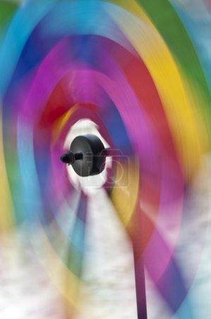 Spinning pinwheel Colorrs