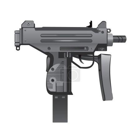 Mini UZI weapon