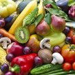 Assortment from vegetables and fruits...