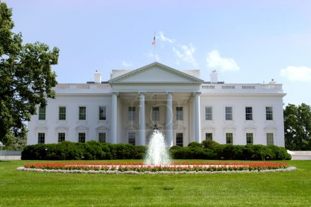 White House. Official residence and principal workplace of the P