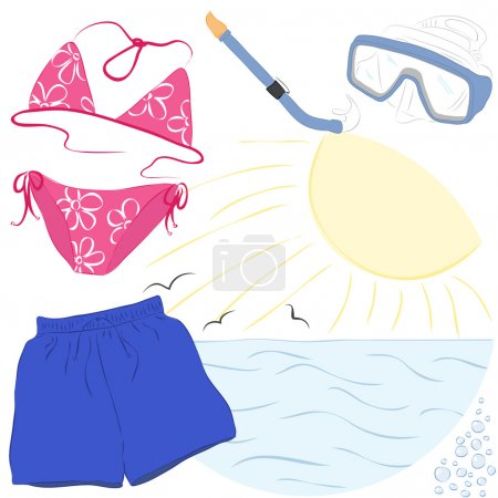 Summer vacations accessories