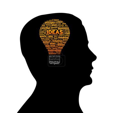 Silhouette head - Ideas