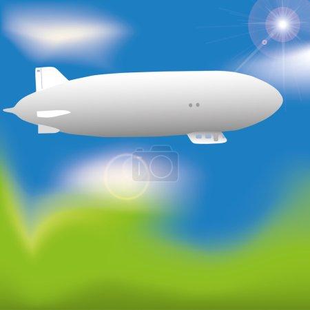 Zeppelin in the sky