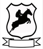 Horse Racing or Show Jumping Sport Shield