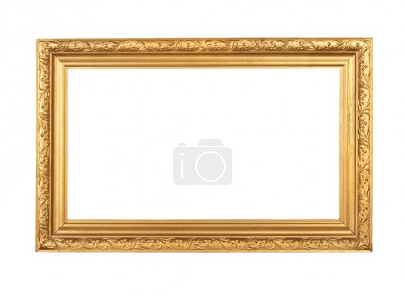 Photo for Vintage frame isolated on white - Royalty Free Image
