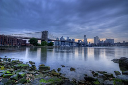 Dramatic View of New York City