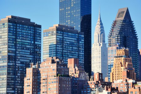 Photo for View of midtown Manhattan with landmark Skyscrapers - Royalty Free Image