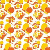 Orange vector Children texture