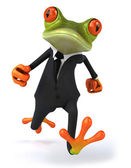 Businessman Frog