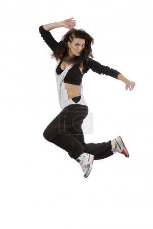 fliegende Tänzerin