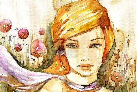 Watercolor summer.