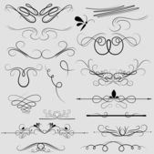 Decor Curly Floral Lines