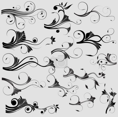 Organic Style Curl Elementary Design