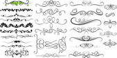 Swirl Ornate Elements Collection Designs