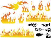 Creative Fire Flame Set